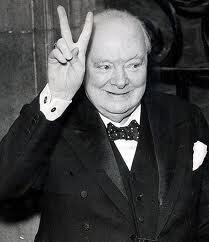 Winston Churchill: Geef nooit op